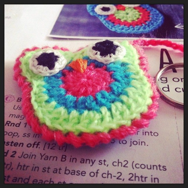stephaniedavies crochet owl