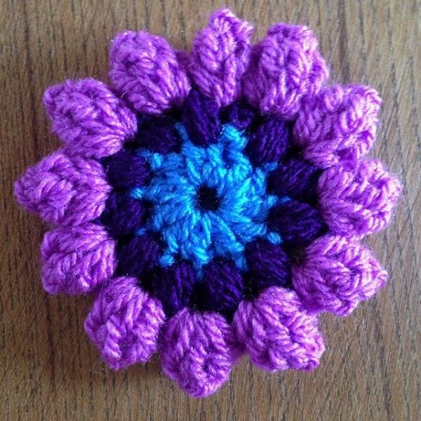 thedorsetfinca crochet flower