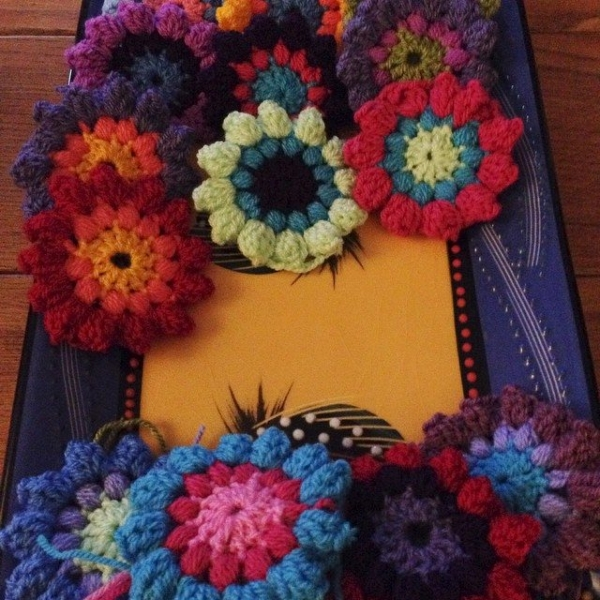 thedorsetfinca crochet flowers