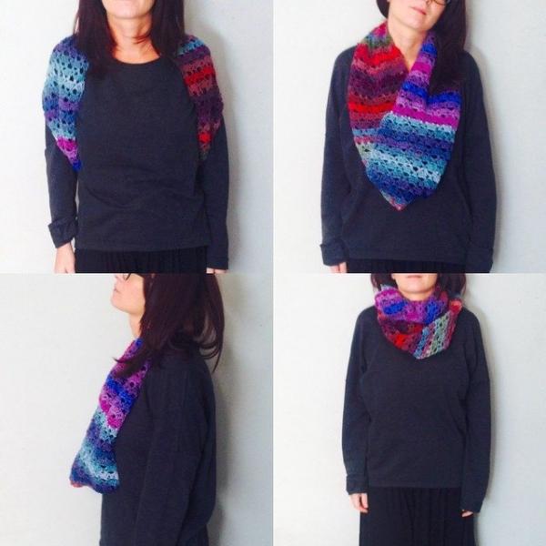 topomaga_instamamme crochet cowl
