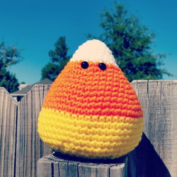 valerieburns crochet candy corn