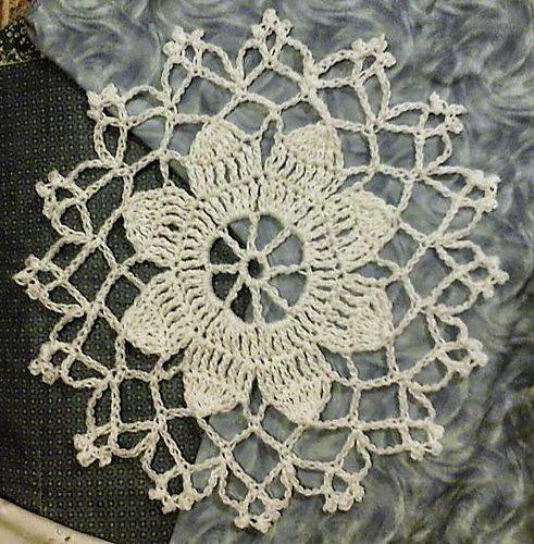 vintage crochet doily pattern
