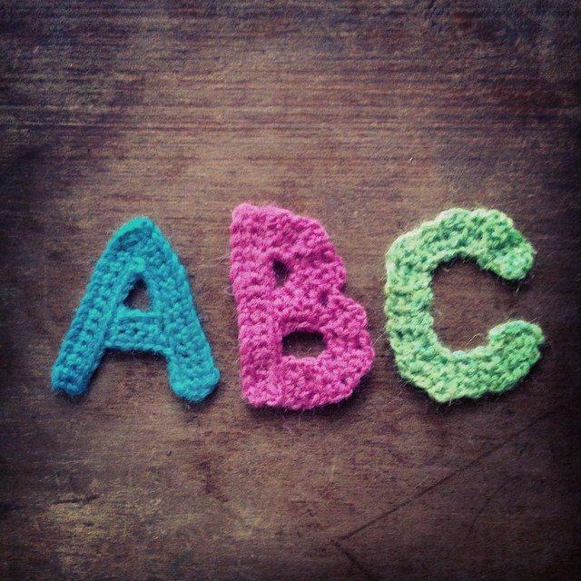 woolyana crochet alphabet