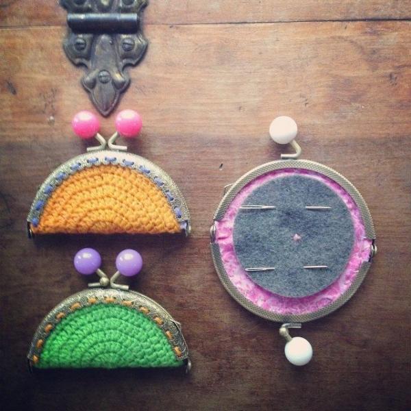 woolyana crochet coin purse