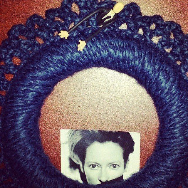 xtinerat yarn wreath