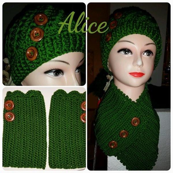 alisol100 crochet set
