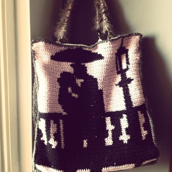 anargirosmou crochet bag
