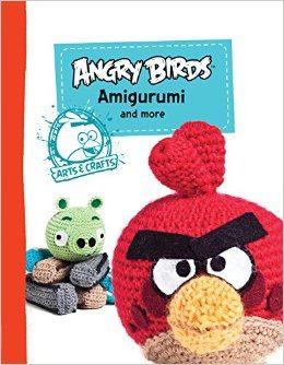 angry birds amigurumi crochet book
