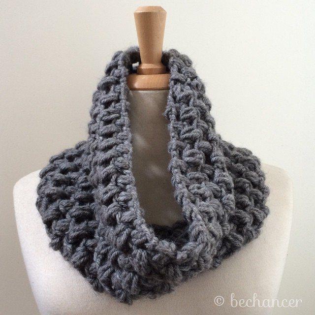 bechancer crochet cowl