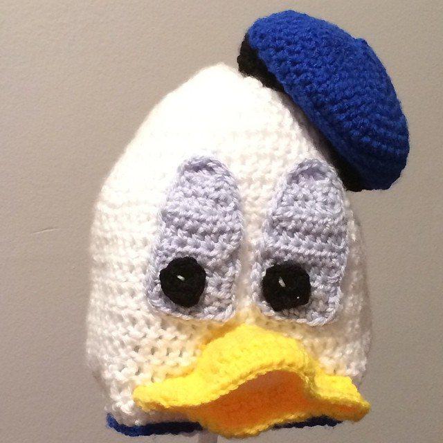 bekajenkins crochet donal duck hat