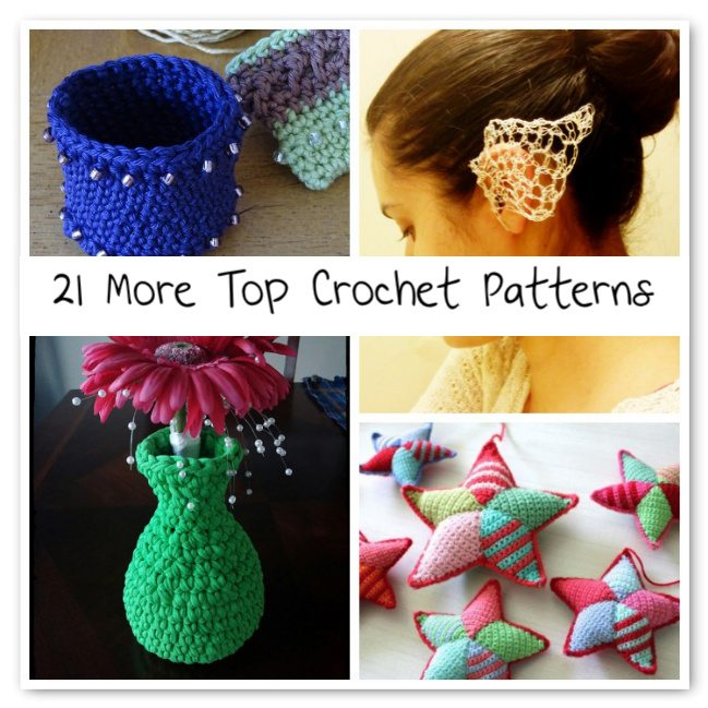Best Crochet Patterns : 21 More of the Top Crochet Patterns Crochet Concupiscence ...