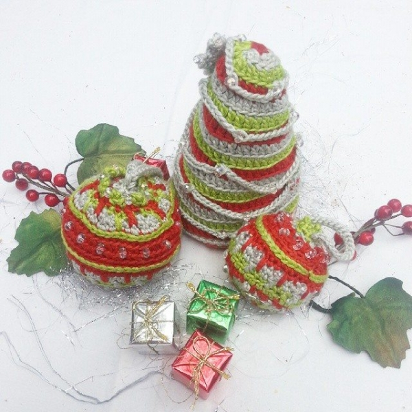 btrixdsigns crochet christmas decorations 2