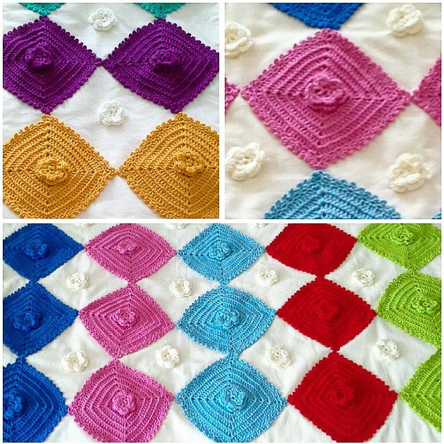 ceyhan colorful crochet squares