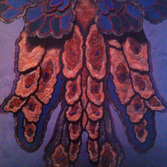 crochet art coat sharron hedges