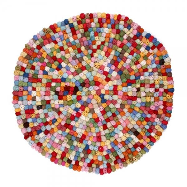 crochet balls carpet