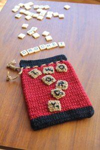 crochet game bag