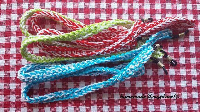 how to make glasses straps