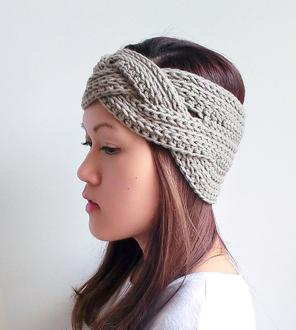 crochet headband kljt braided