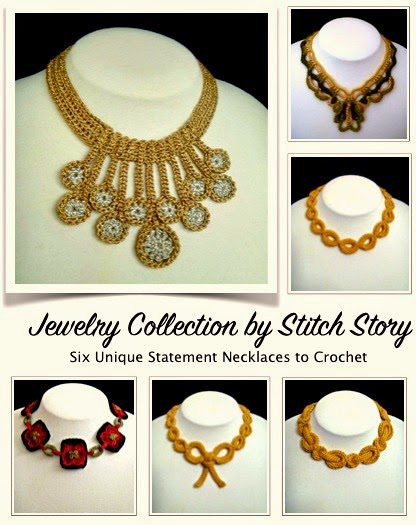 crochet jewelry ebook