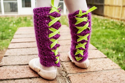crochet legwarmers pattern