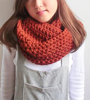 crochet neckwarmer