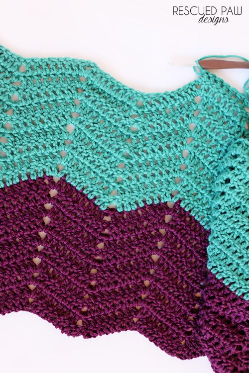 crochet ripple tutorial