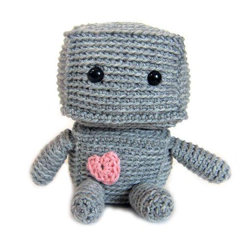 crochet robot pattern