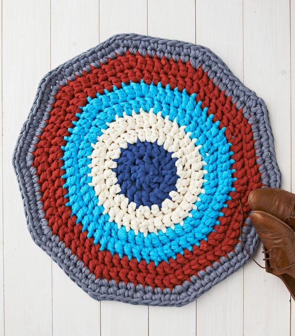 Free Crochet Pattern For A Rug : Link liefde voor beste haak patronen, Idee?n en nieuws