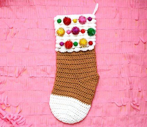 crochet stocking pattern