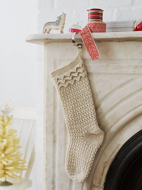 crochet stockings