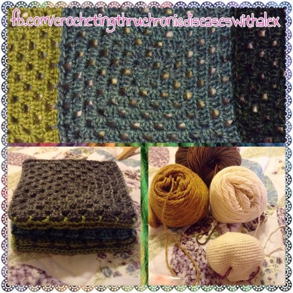 crochetinghtruchronicdiseases crochet squares