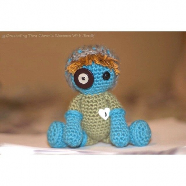 crochetingthruchronicdiseases crochet doll