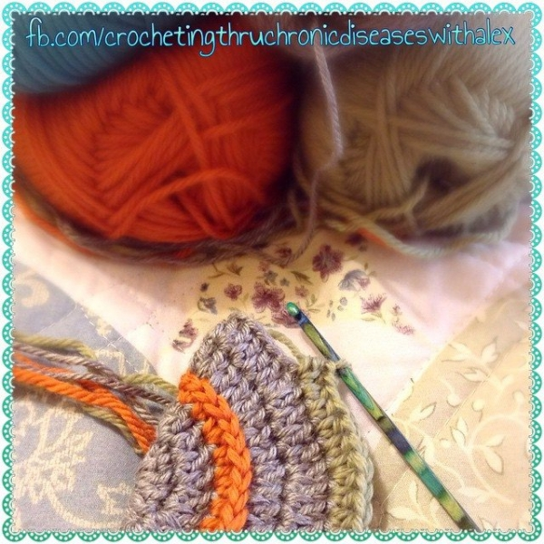 crochetingthruchronicdiseases crochet hat