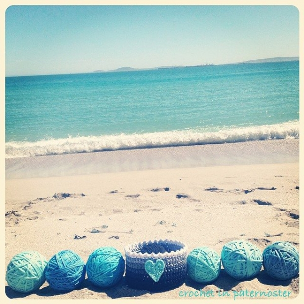 crochetinpaternoster crochet basket 2