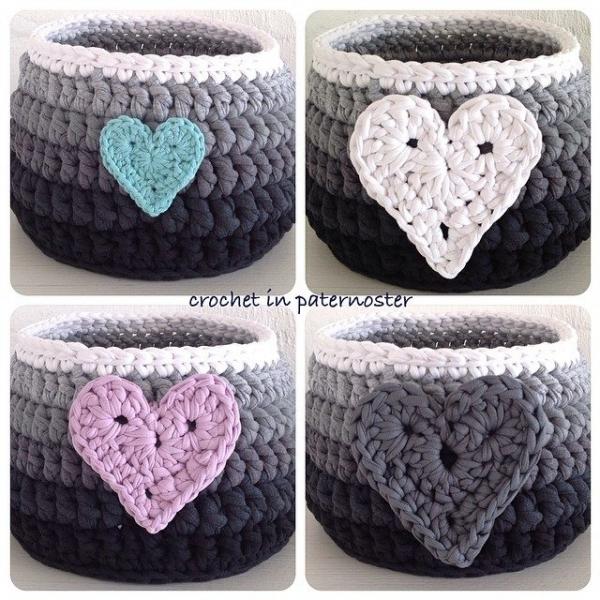 crochetinpaternoster crochet basket 3