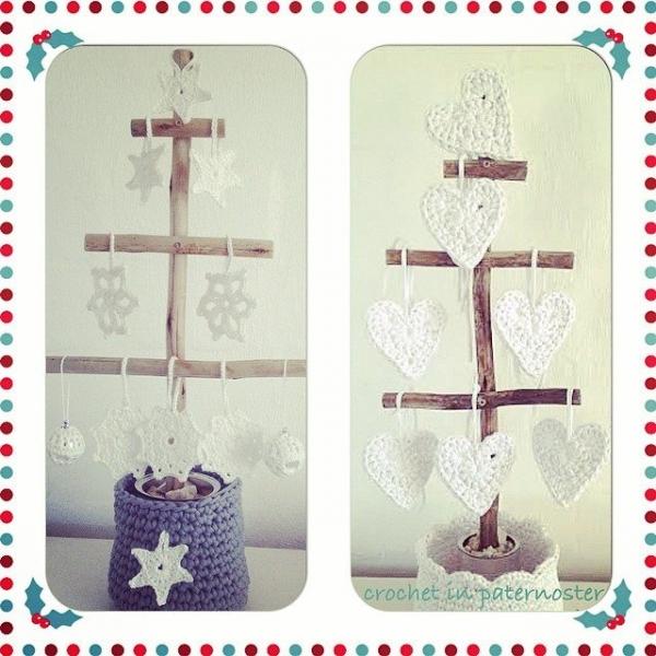 crochetinpaternoster crochet christmas trees