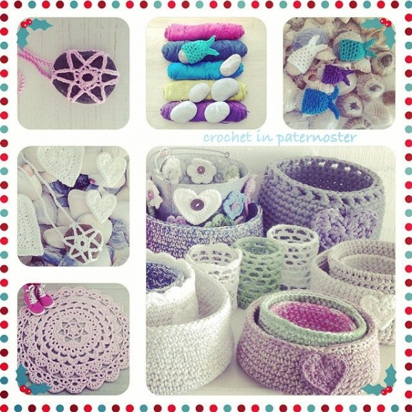 crochetinpaternoster crochet collage