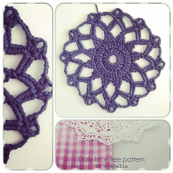 crochetinpaternoster crochet doily