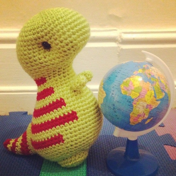 cuteashook crochet dino 2