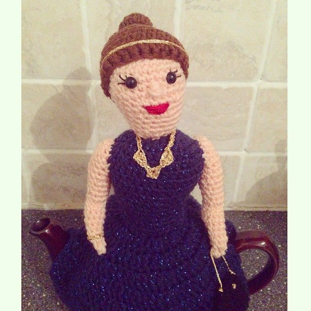 cuteashook crochet teapot