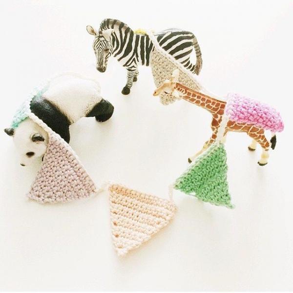 elianeroest crochet bunting