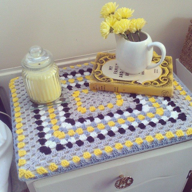 forestflowerdesigns crochet square upycle