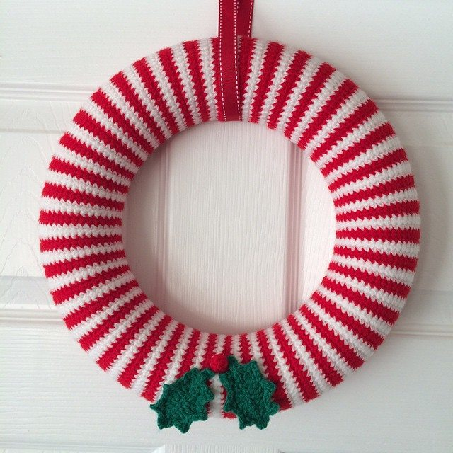 foxyloxy69 christmas wreath crochet