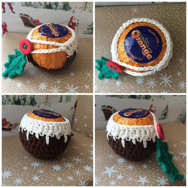 foxyloxy69 crochet chocolate orange
