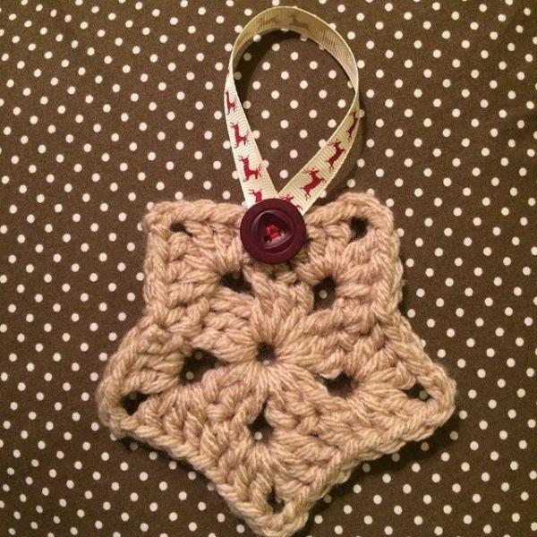 foxyloxy69 crochet star