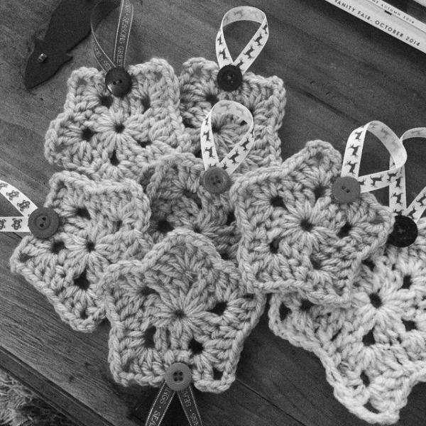 foxyloxy69 crochet stars