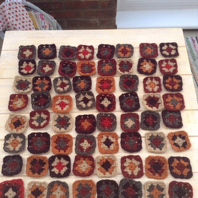 franloveswool crochet squares 2