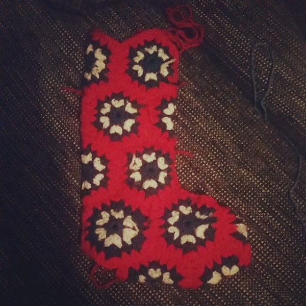 frendzicrochet crochet stocking 2