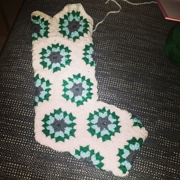 frendzicrochet crochet stocking
