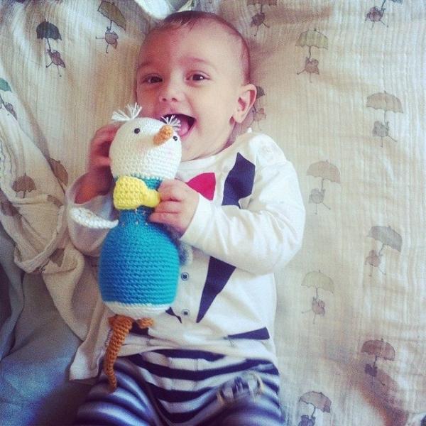 funnyva1entine crochet baby toy